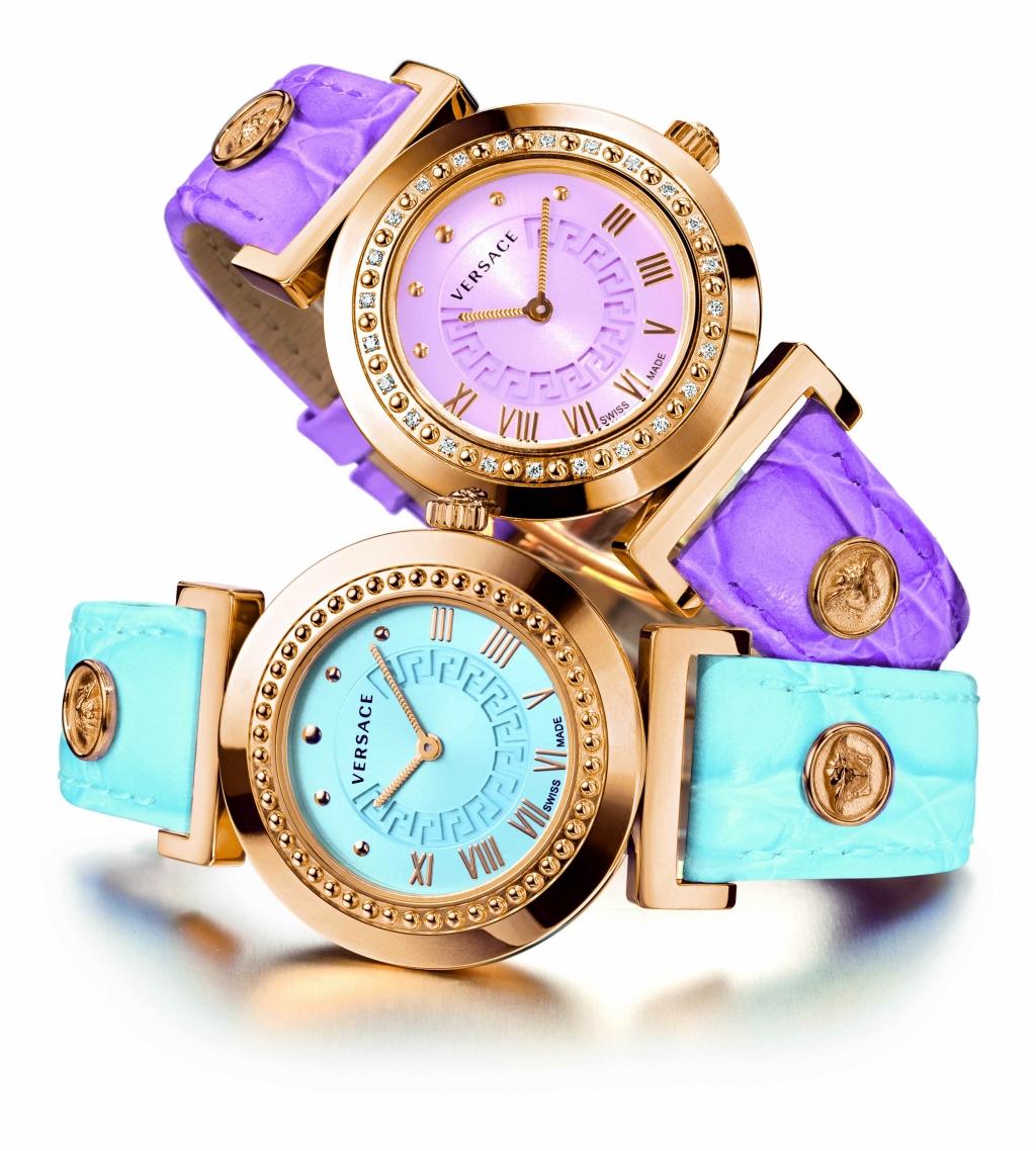 Новая коллекция часов от Versace