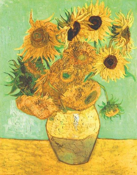 Van_Gogh_-_Still_Life_Vase_with_Twelve_Sunflowers - small