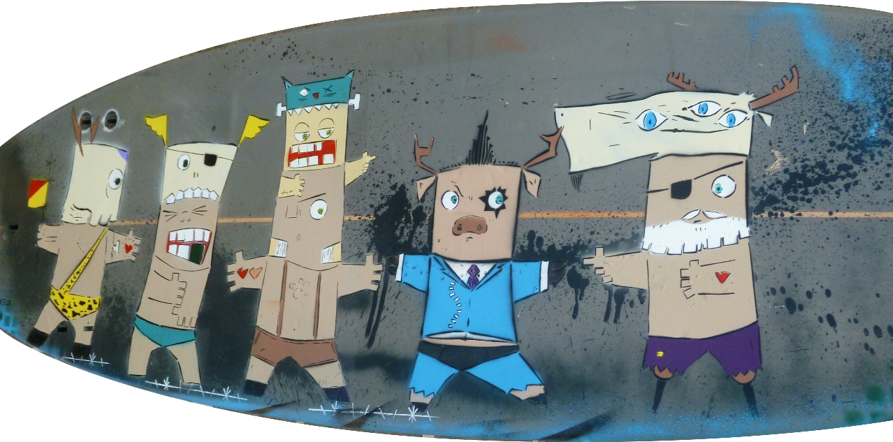 """В Бат-Яме откроется выставка граффити """"Surfwriters"""""""
