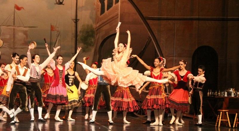 Русская хореографическая классика из Бразилии