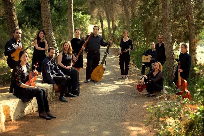 Историческая жестикуляция и «Вивальди в Париже» в Абу-Гош