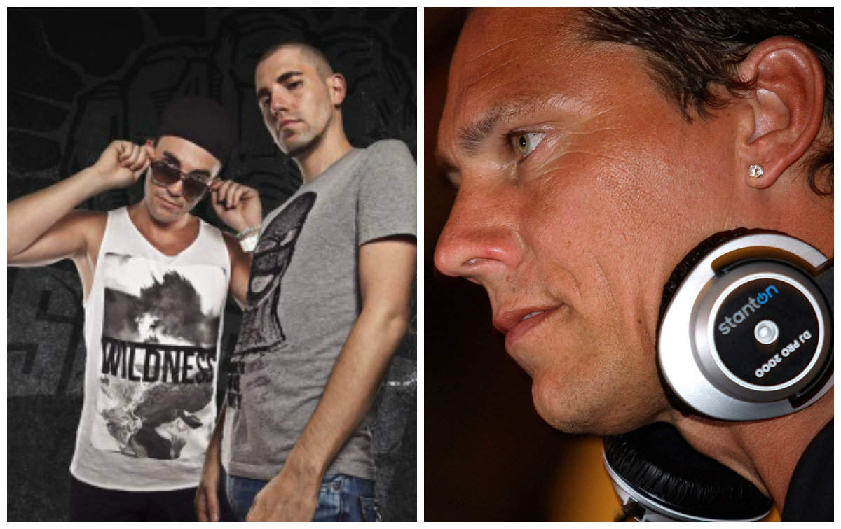 Tiesto, Dimitri Vegas & Like Mike в Эйлате