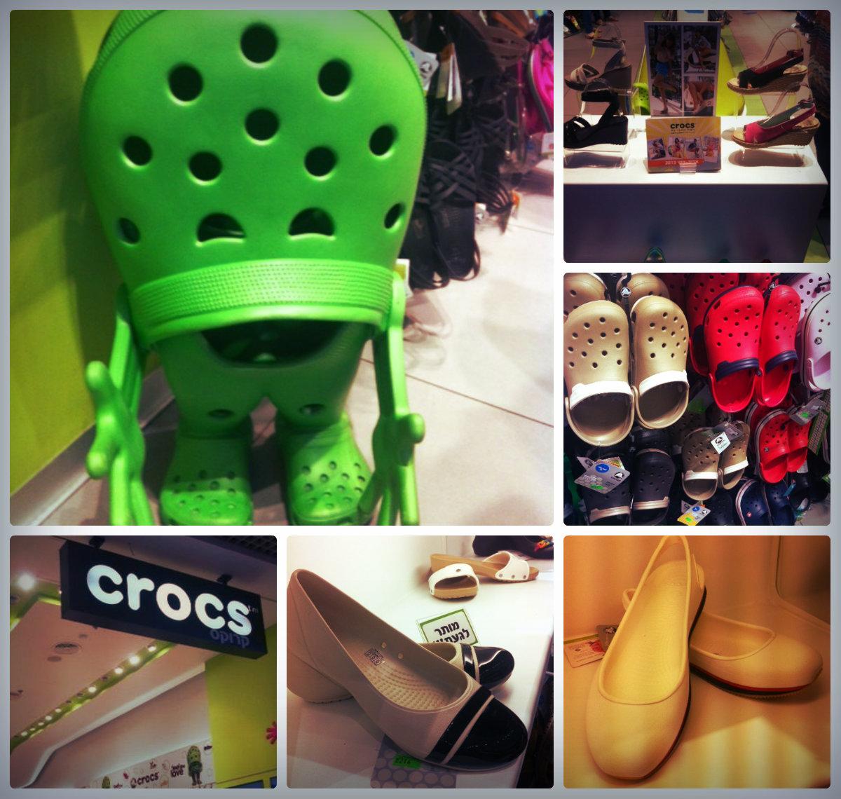 В Crocs – можно выглядеть гламурно