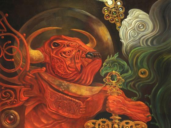 Галереи подняли цены на картины Бориса Дуброва