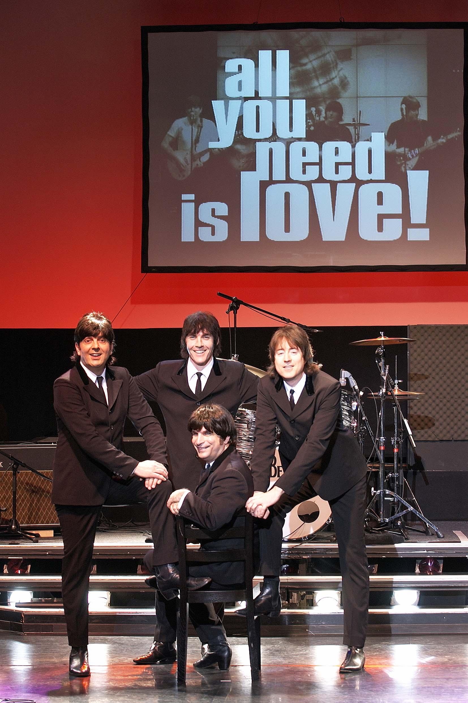 Впервые в Израиле: Битлз-мюзикл «All You Need is Love!»