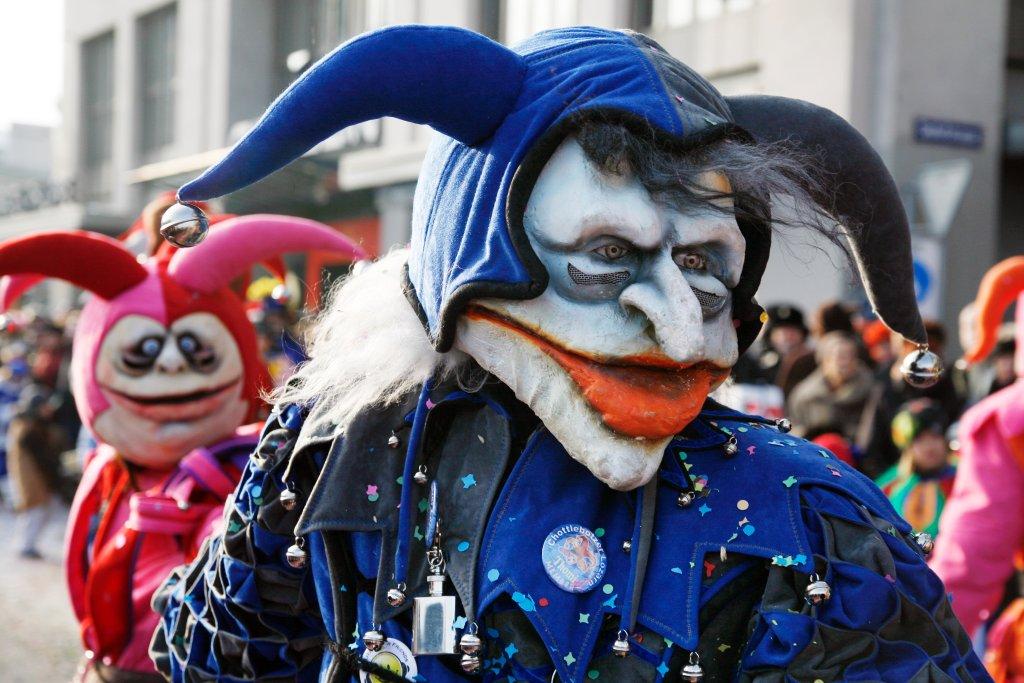 Феерия карнавалов и веселья в Швейцарии