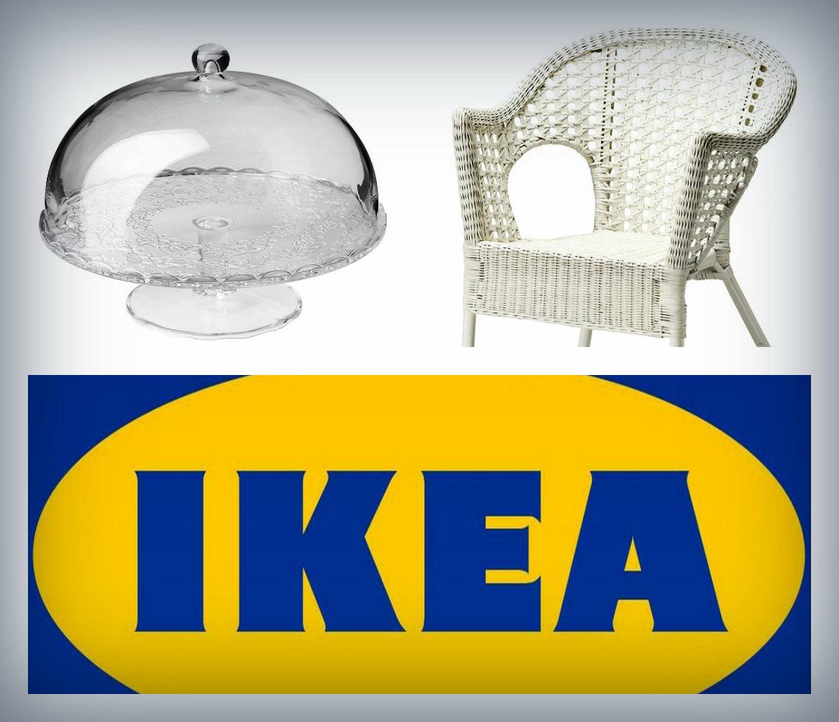Шавуот в IKEA в белых тонах