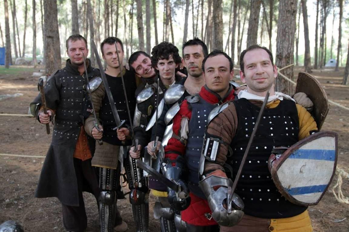 Израильские рыцари вызывают на поединок своих зарубежных коллег!