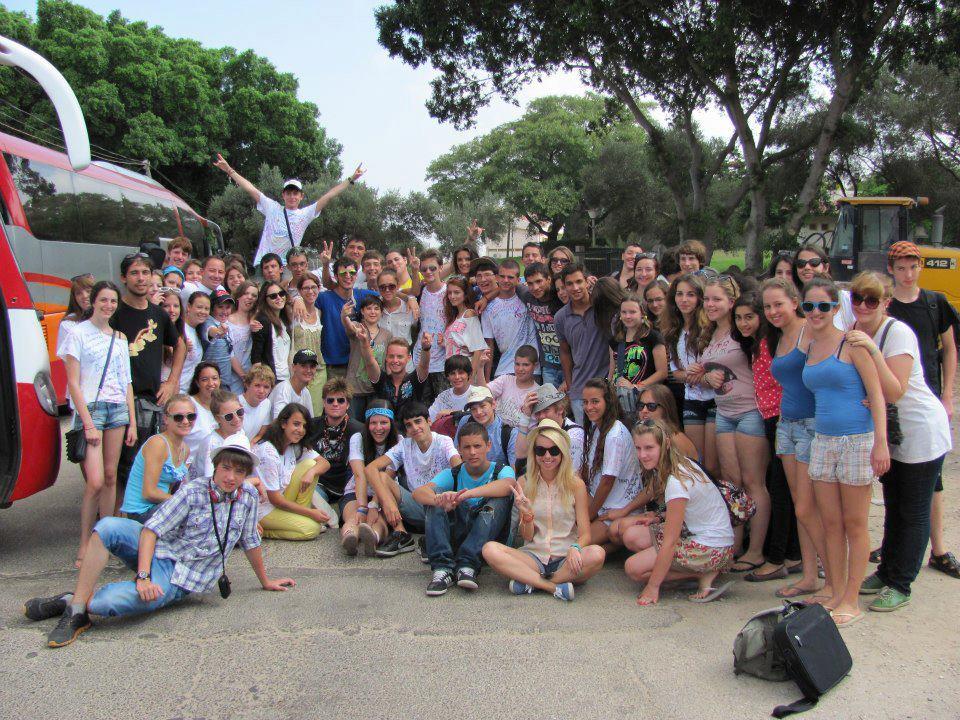 Международный летний лагерь в Израиле