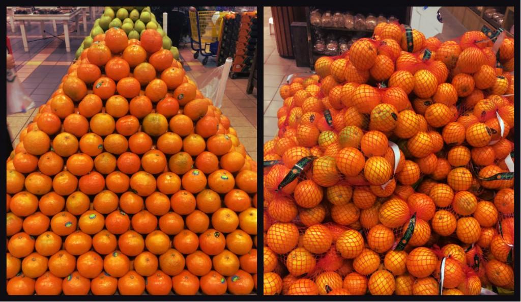 mandarini apelsini