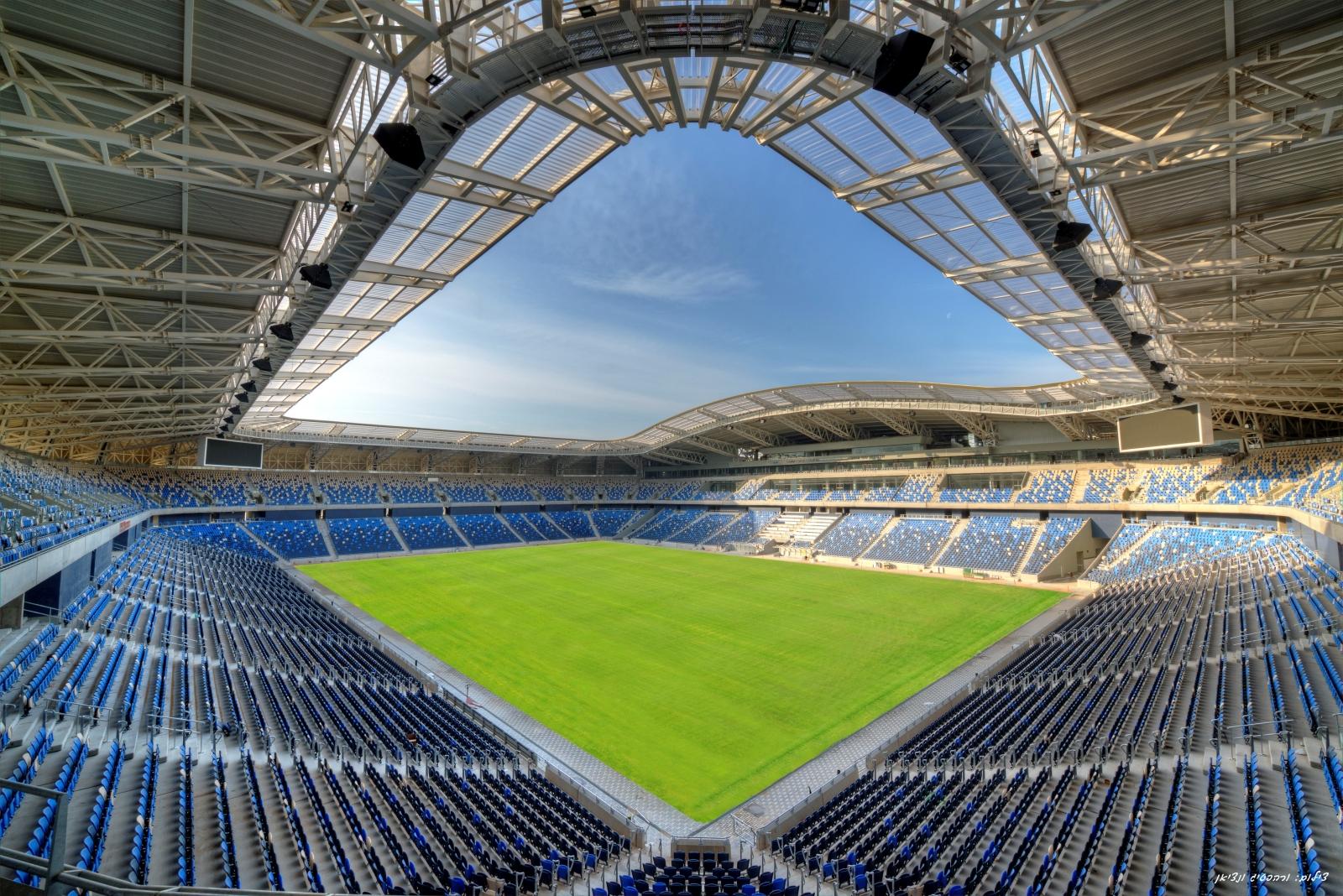 В Хайфе завершено строительство стадиона им. Сами Офера
