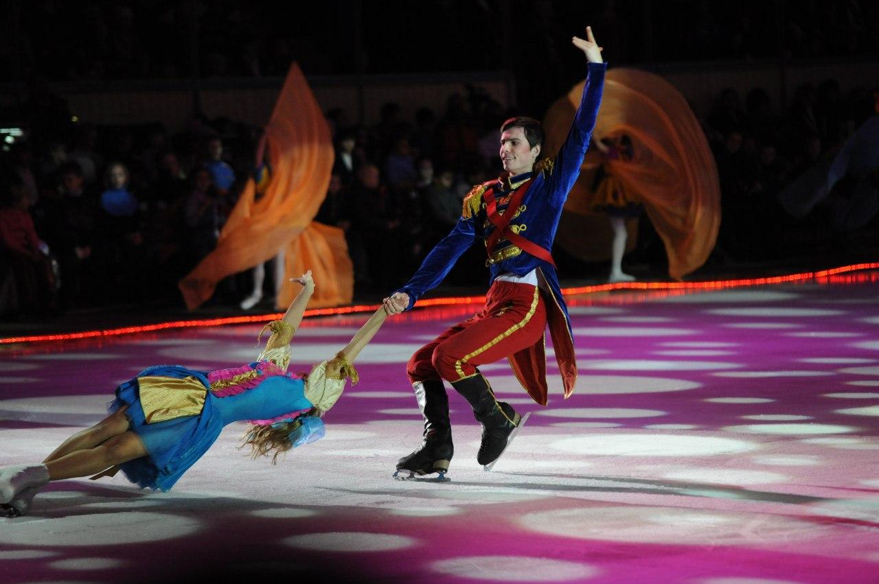 Ледовый «Щелкунчик» в театре фигурного катания