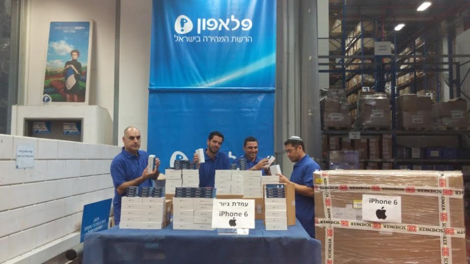 """Пелефон"" проводит израильскую презентацию iPhone6 и iPhone6+"