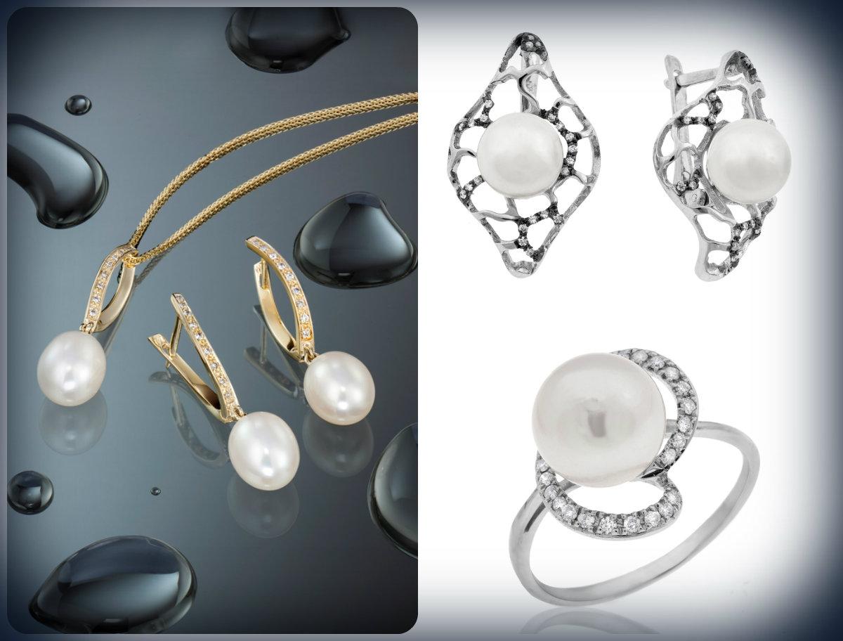 Жемчуг и бриллианты –идеальное сочетание
