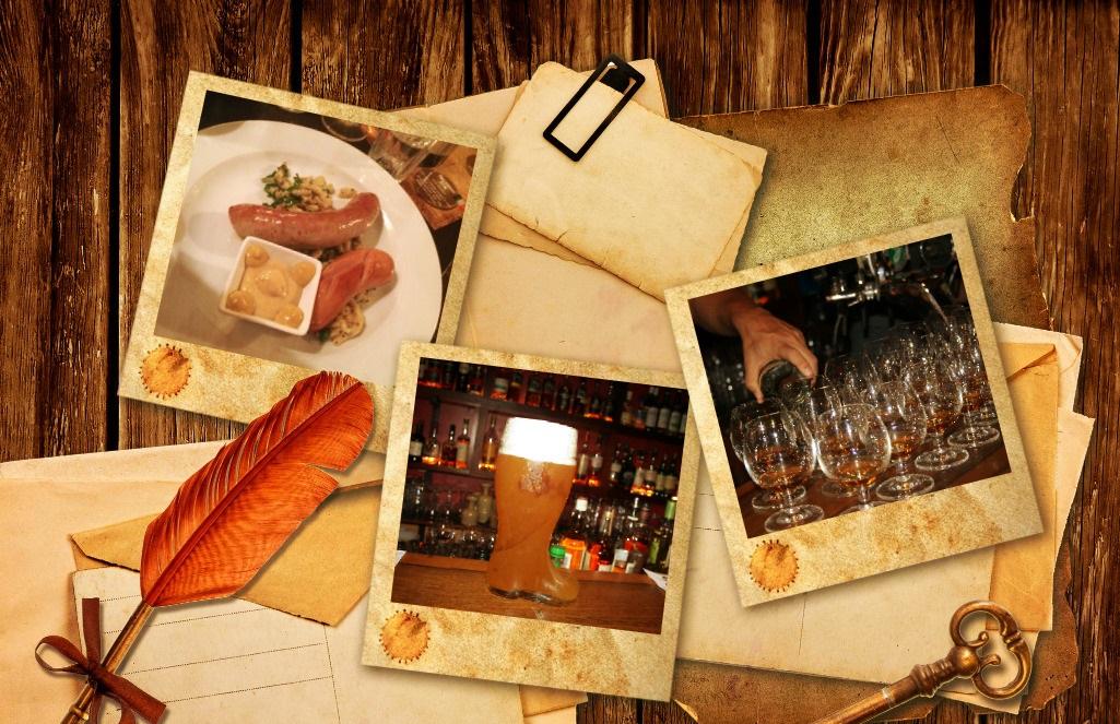 Виски, пиво и отличная еда