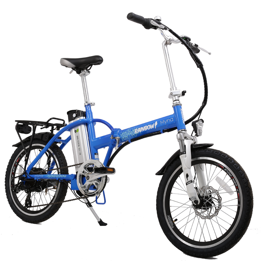Электровелосипед Rainbow 20 »: Зачем крутить педали?