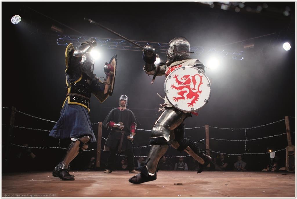 Рыцарский бой: живая история на острие меча!