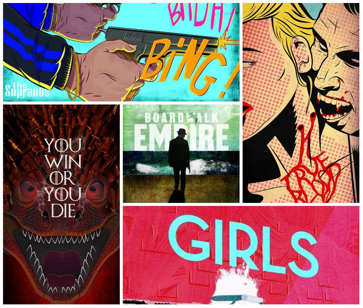 Знаменитые сериалы HBO – тема новой  выставки yes Oh gallery в «Дизенгоф-центре»