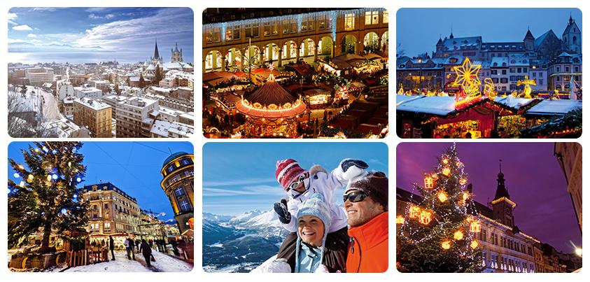 Сказочный Новый год в Швейцарии с Гордон турс