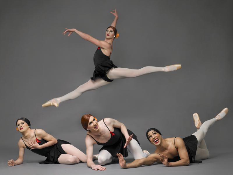 Les Ballets Trockadero de Monte Carlo в Израиле