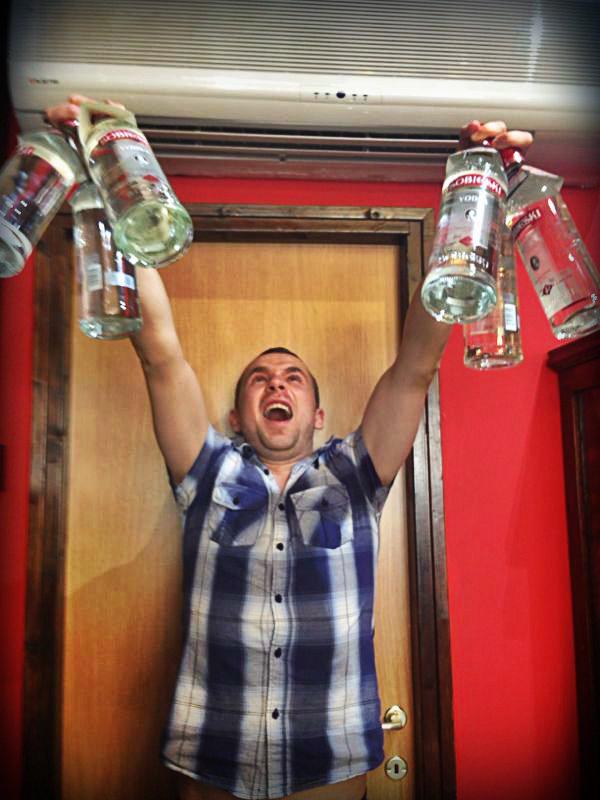 Кто выйграл ящик водки «Sobieski» ?