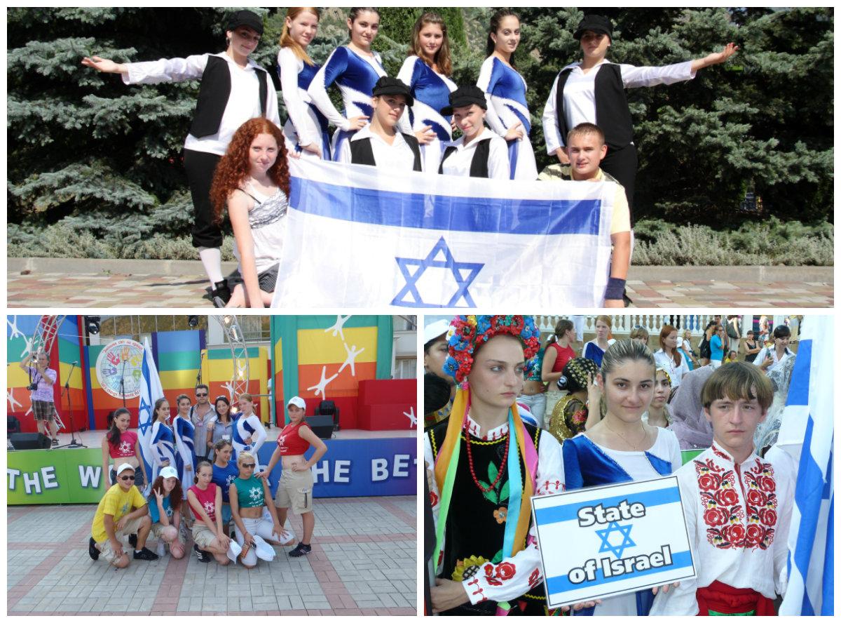 Коллектив «Визави» из Бат-Яма будет представлять Израиль в  Артек – Украина.
