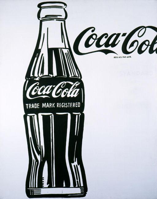 Поп-арт в капсуле кока-колы