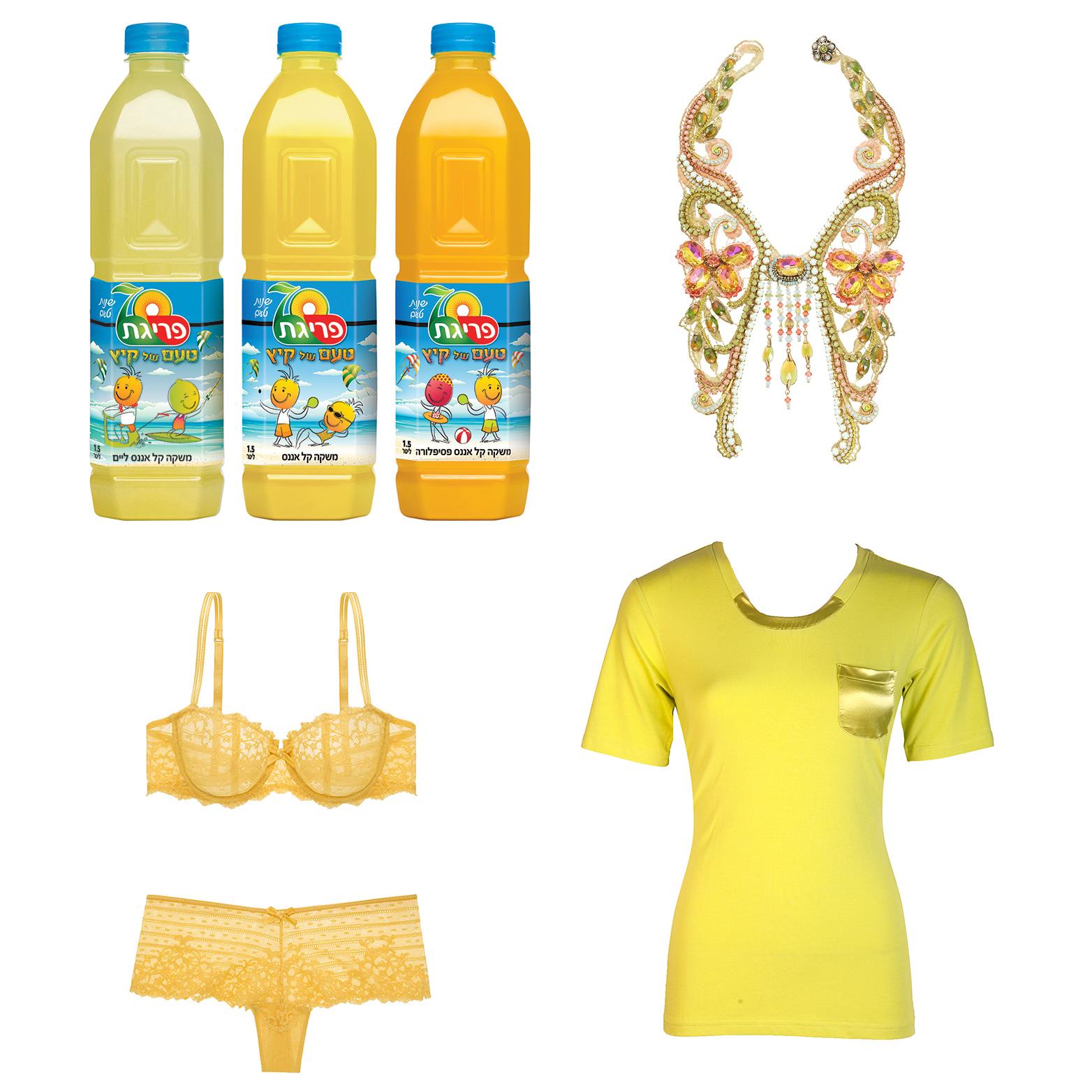 Желтый цвет – самый горячий модный тренд лета