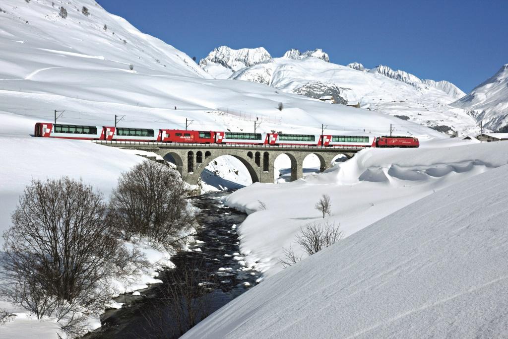 Зимние забавы в Швейцарии